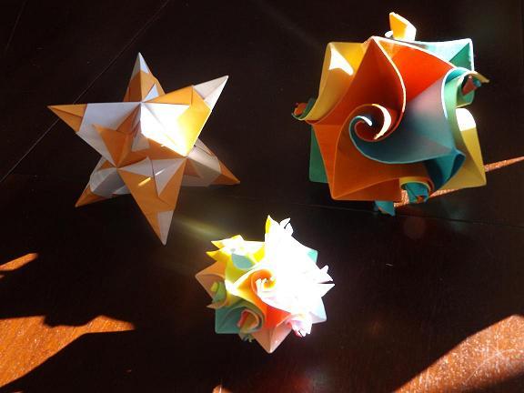 Origami et mathématiques
