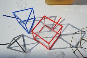Structures pour bulles de savon